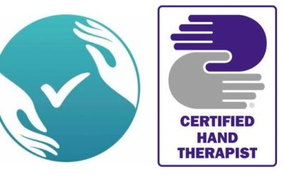 I've heard of a hand therapist, but what's an AHT or CHT?